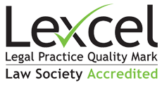 lexcel accredited logo